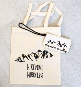 Mountains Pack (zestaw torba + baby LEtter Bag)