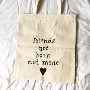 friends are born not made
