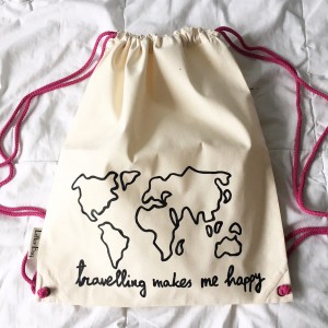 travelling makes me happy map