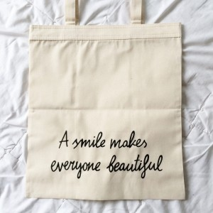 a smile makes everyone