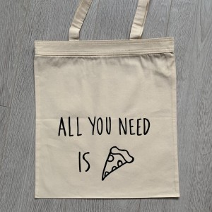 all you need is pizza (+ zamek błyskawiczny)
